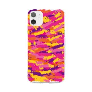 柄 Soft clear smartphone cases