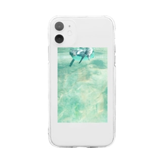 ペンギン Soft clear smartphone cases