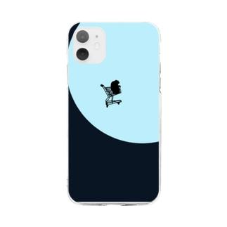 空飛ぶ🛒 Soft clear smartphone cases