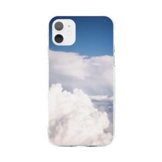 look up to the sky Soft Clear Smartphone Case