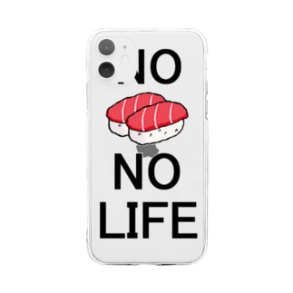 No Sushi No Life Soft clear smartphone cases