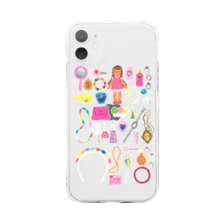 iPhone 11、iPhone 11 Pro MAX用 おしゃれドロボウ Soft clear smartphone cases