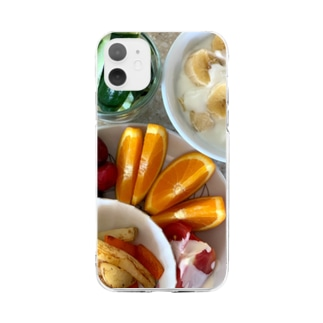 ヘルシーブランチ Soft clear smartphone cases