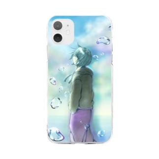 水滴 Soft clear smartphone cases