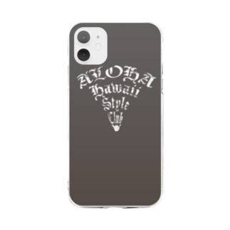 Aloha Popper Soft clear smartphone cases