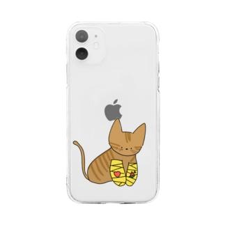 チャッピー Soft clear smartphone cases