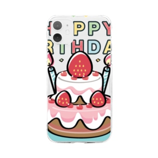 CT61HAPPY BRTHDAY  Soft clear smartphone cases