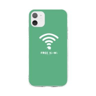 FREE Ki-Wi(グリーン) Soft clear smartphone cases