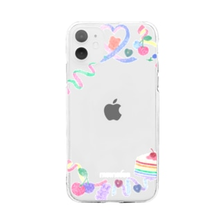 sticker deco case Soft clear smartphone cases