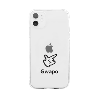フィリピンラブのGWAPO Soft clear smartphone cases