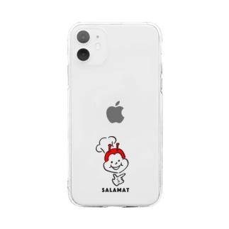 フィリピンラブのSALAMAT Soft clear smartphone cases