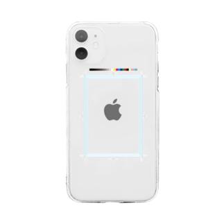 トリムマーク Soft clear smartphone cases