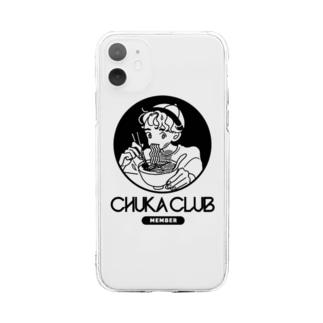 CHUKA CLUB MEMBER Soft clear smartphone cases