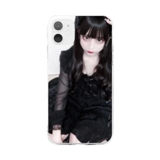 愛、テキサスⅡ Soft clear smartphone cases