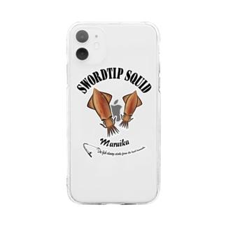 MARUIKA_6_C Soft Clear Smartphone Case