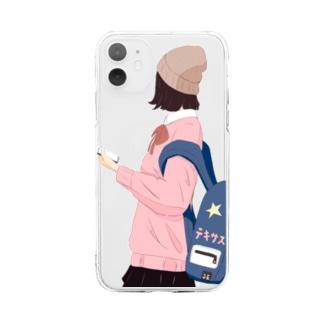 リュック重い Soft clear smartphone cases