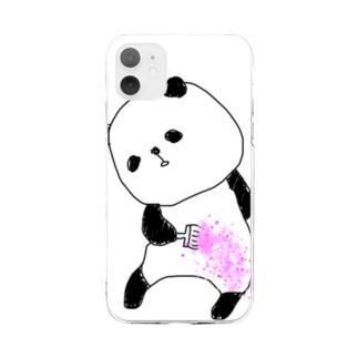 そめる Soft clear smartphone cases