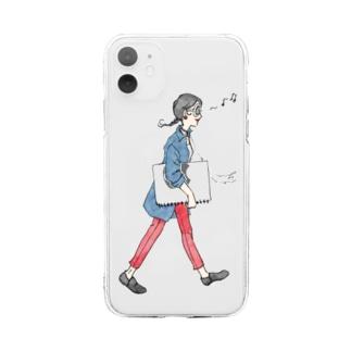 モーニングスターのLala standard Soft clear smartphone cases