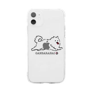 GANBARANAI iPhone CASE Soft clear smartphone cases
