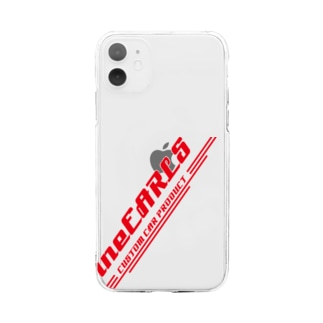 fineEARLS/ファインアールのfineEARLS_r_55 Soft clear smartphone cases