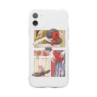 お気に入りちゃん Soft clear smartphone cases
