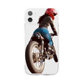 BiKetz  GB250 カフェレーサー Soft clear smartphone cases