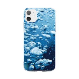 泡 Soft clear smartphone cases