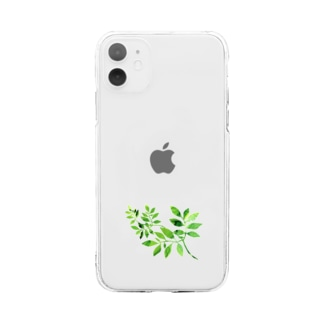 GreenLeaf Soft clear smartphone cases