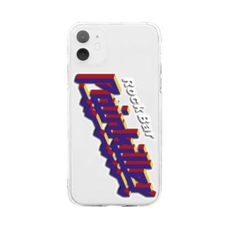 立体Logo Soft clear smartphone cases