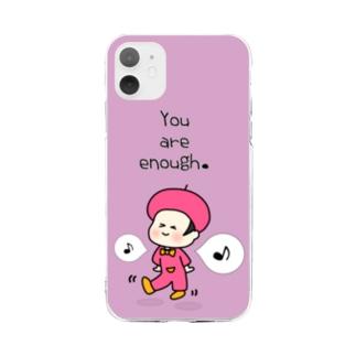そのままでいい Soft clear smartphone cases