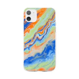 アース Soft Clear Smartphone Case