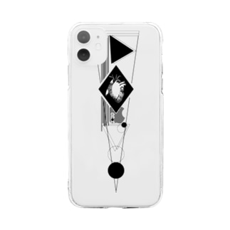 robot Soft Clear Smartphone Case
