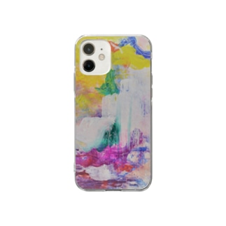 Mountain Soft clear smartphone cases
