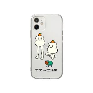 妖怪・説法もち Soft clear smartphone cases