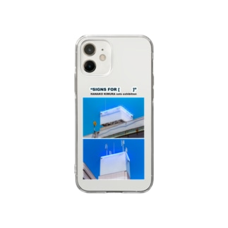 木村華子個展記念 Soft clear smartphone cases