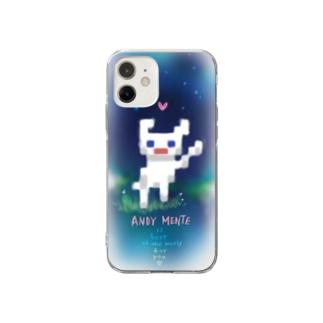 フワフワスマホケース Soft clear smartphone cases