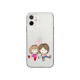 CHAMA×ちょこんと Soft Clear Smartphone Case