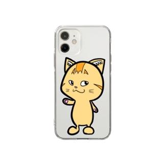 ハッピーグッズ Soft Clear Smartphone Case