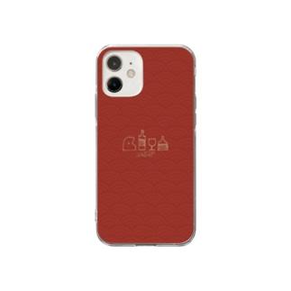 さBAR ースプモーニ Soft clear smartphone cases