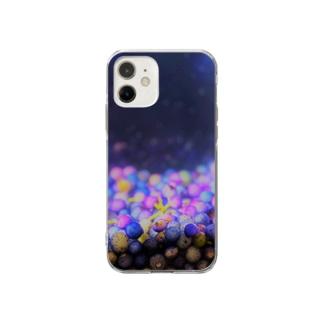 小宇宙 in 焼酎② Soft clear smartphone cases