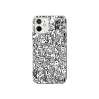 街 Soft Clear Smartphone Case