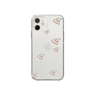 千鷹(ちどり) Soft clear smartphone cases