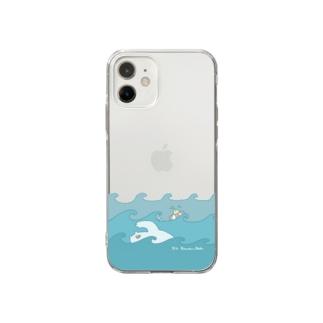 くまんぬラジオ2021・夏 Soft Clear Smartphone Case