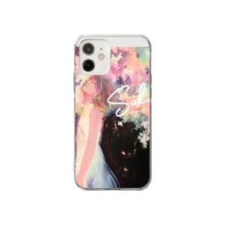 Sakura by日端奈奈子 Soft Clear Smartphone Case