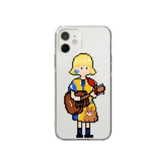 ギター少女 Soft Clear Smartphone Case