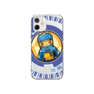 SpaceMonkey Soft clear smartphone cases