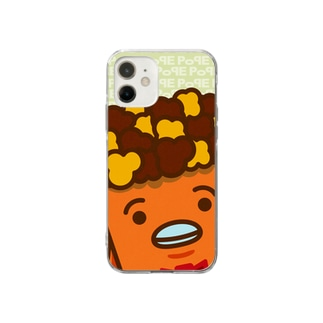 POPE-Caramel- Soft clear smartphone cases