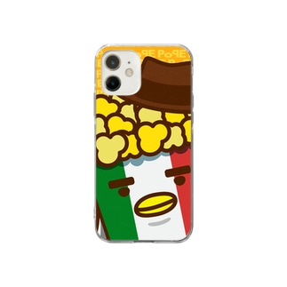 POPE-Cheese- Soft clear smartphone cases