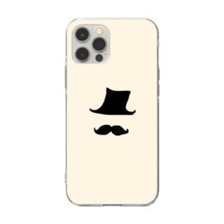 Mr.ダンディー(IV) Soft clear smartphone cases