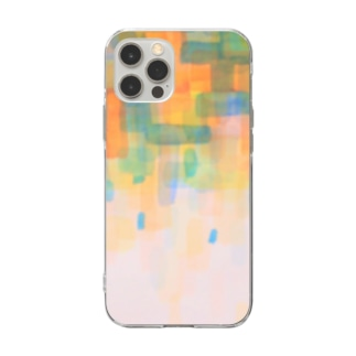 color formed 2 ☆ 色のしぐさ Soft clear smartphone cases